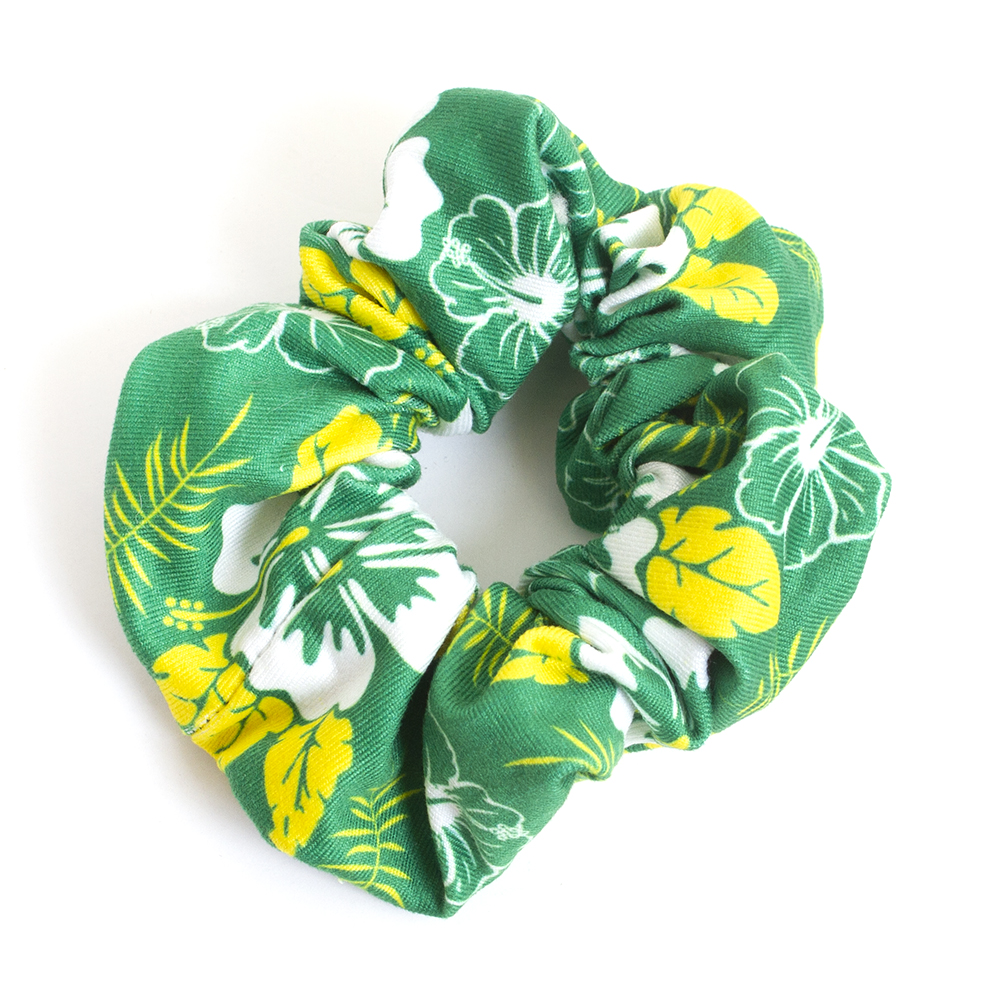 Oregon, Hibiscus Pattern, Scrunchie